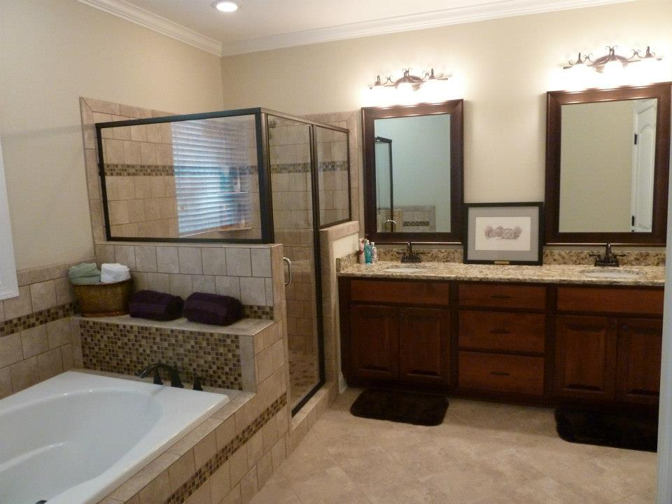 Bathrooms bars lkn custom homes for Full bathroom ideas